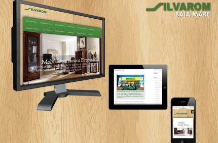 Silvarom: site de prezentare, catalog online de produse