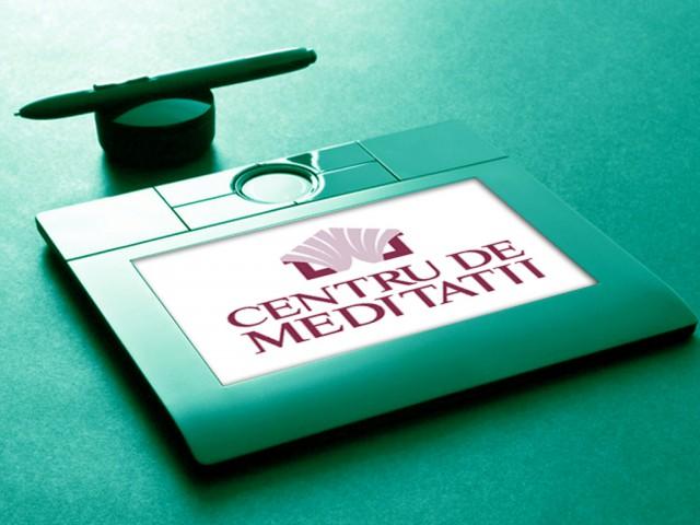 Centru de meditații: logo