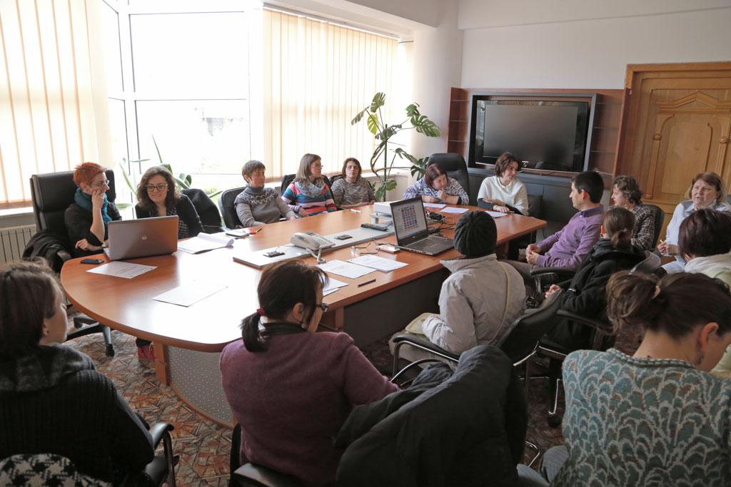 Seminar Egalitate de sanse si de gen - proiect Acces la munca