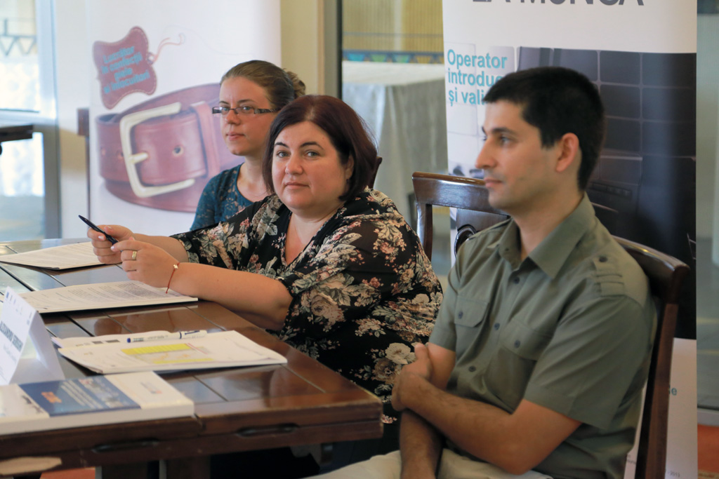 Conferinta de presa - final proiect Acces la munca